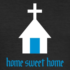 Holy Home - Männer Slim Fit T-Shirt