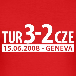 Turkey - Geneva 2008 T-Shirts - Männer Slim Fit T-Shirt