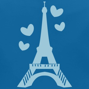 Love in Paris tower Accessories - Baby Organic Bib
