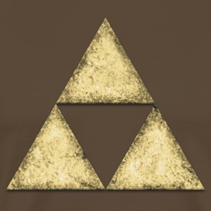 Stone, triangle, geometric shape T-Shirts - Men's Premium T-Shirt