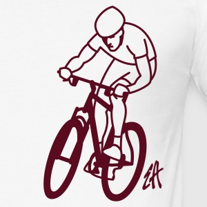 MTB - Slim Fit T-shirt herr
