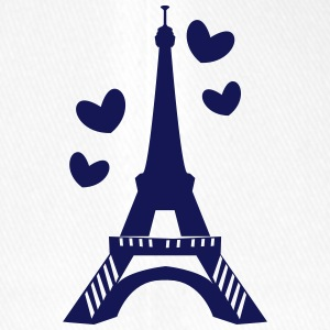 Love in Paris tower Caps & Hats - Flexfit Baseball Cap