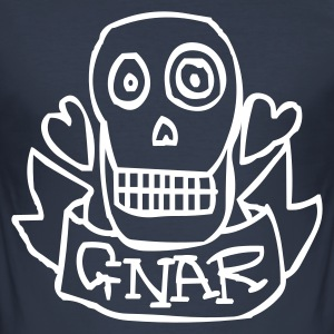 Dark navy gnarr T-shirts - slim fit T-shirt