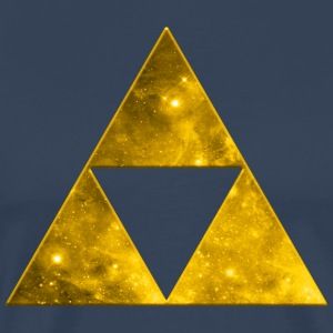 Space Triangle, Mathematics, Universe, Triforce,  T-Shirts - Men's Premium T-Shirt
