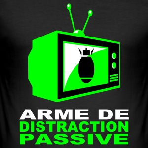 Distraction passive - Tee shirt près du corps Homme