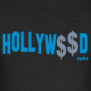 Noir hollywood by wam T-shirts - Tee shirt près du corps Homme