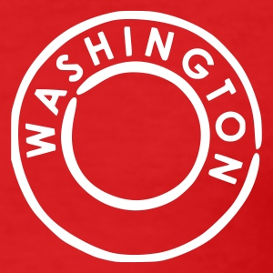 Rød Washington T-skjorter - Slim Fit T-skjorte for menn