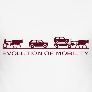 Evolution of Mobility - Tee shirt près du corps Homme