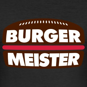 Eigelb Burger Meister © T-Shirts - Slim Fit T-shirt herr