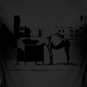Camel - Männer Slim Fit T-Shirt