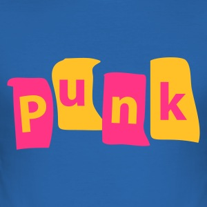 Punk [friswit.nl]  - Men's Slim Fit T-Shirt