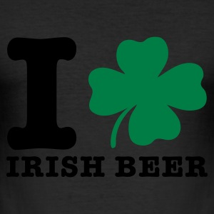 Eigelb irish beer bier T-Shirts - Männer Slim Fit T-Shirt