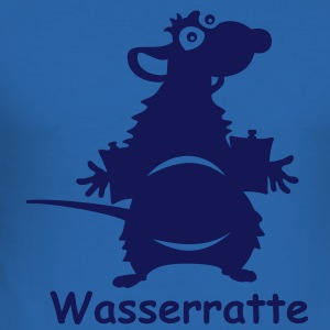 Wasserratte- Kinder T-shirt - Männer Slim Fit T-Shirt