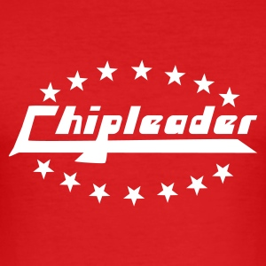Rot Chipleader T-Shirts - Männer Slim Fit T-Shirt