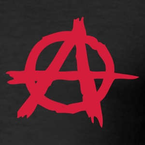 Anarchy 2 - Männer Slim Fit T-Shirt