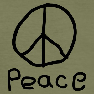 Peace - Männer Slim Fit T-Shirt
