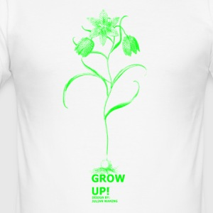 GrowUP! Logo Shirt - Männer Slim Fit T-Shirt