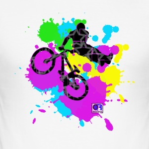 Freeride bike - Männer Slim Fit T-Shirt