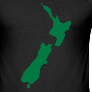 NZ T-Shirt or New Zealand T-Shirt  - Tee shirt près du corps Homme