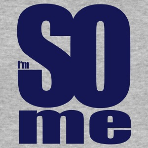 Gråmelerad i am so me T-shirts - Slim Fit T-shirt herr
