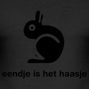Eigeel Eendje is het haasje T-shirts - slim fit T-shirt