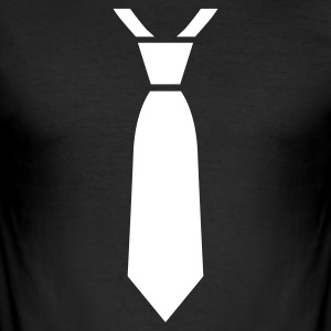 Black Tie Men's T-Shirts - Men's Slim Fit T-Shirt