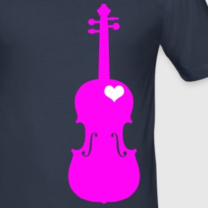 Cello Pink - Men's Slim Fit T-Shirt