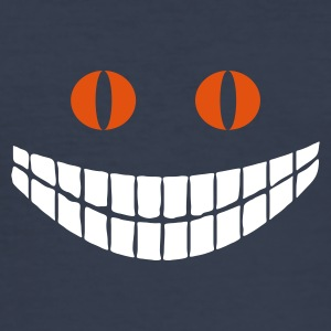 Dark navy Alice in Wonderland: Cheshire cat (2c) T-shirts - slim fit T-shirt