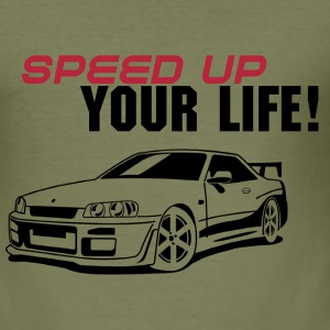 Speed Up II - Männer Slim Fit T-Shirt