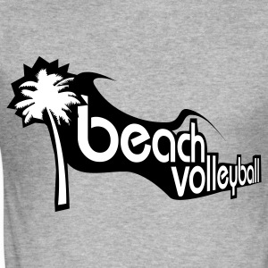 Beachvolleyball T-Shirt - Männer Slim Fit T-Shirt