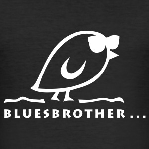 TWEETLERCOOLS - BLUESBROTHER - Männer Slim Fit T-Shirt