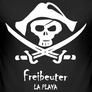 Freibeuter La Playa T-Shirts - Männer Slim Fit T-Shirt