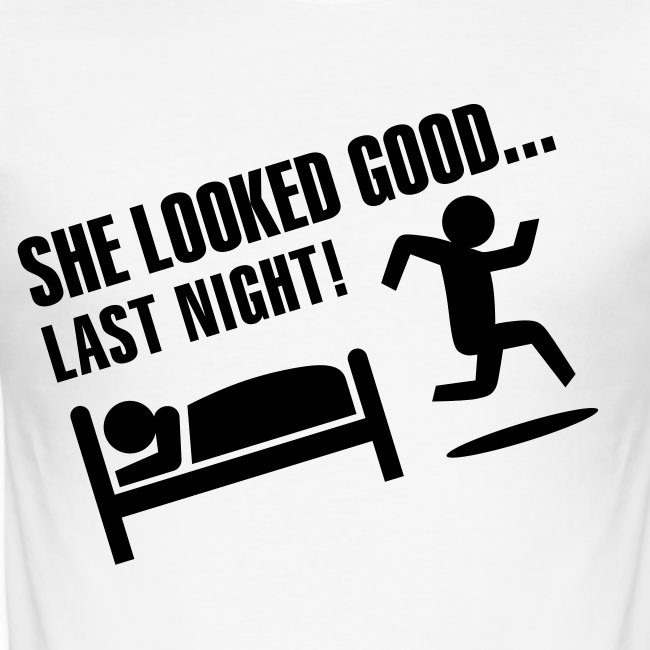 she looked