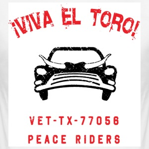 VIVA EL TORO! Bully Car Shirt - Men's Slim Fit T-Shirt