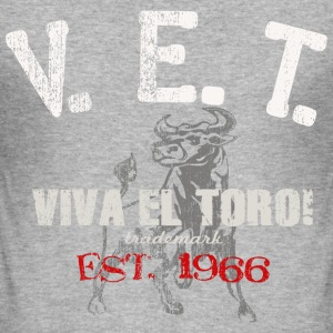 VIVA EL TORO! ATHLETIC DEPT. - Männer Slim Fit T-Shirt