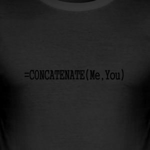 Concatenate - Men's Slim Fit T-Shirt