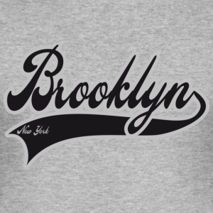 brooklyn new york T-shirts - Tee shirt près du corps Homme