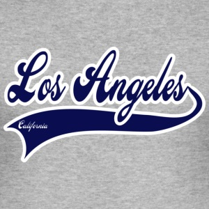los angeles california T-Shirts - Männer Slim Fit T-Shirt