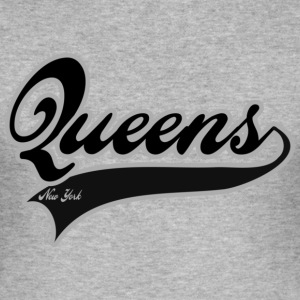 queens new york T-shirts - Slim Fit T-shirt herr