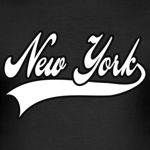 new york T-shirts - Slim Fit T-shirt herr