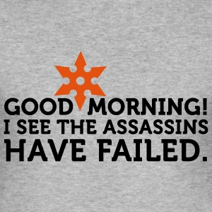 I See The Assassins Have Failed 2 (2c) T-Shirts - Men's Slim Fit T-Shirt