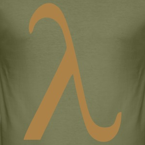 Lambda T-Shirts - Men's Slim Fit T-Shirt