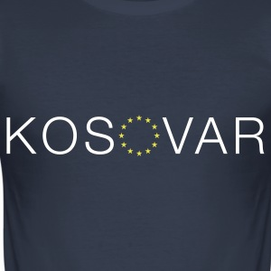 (EURO)KOSOVAR - Men's Slim Fit T-Shirt