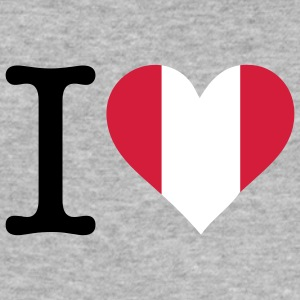 I Love Peru (3c) T-Shirts - Men's Slim Fit T-Shirt