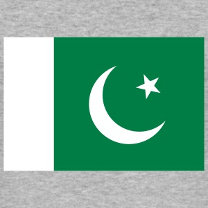 Flag Pakistan (2c) T-shirts - Slim Fit T-shirt herr