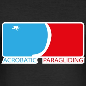 Acrobatic Paragliding T-Shirts - Männer Slim Fit T-Shirt