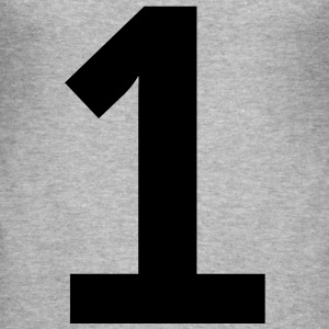 Number 1 (1c)++ T-shirts - Herre Slim Fit T-Shirt