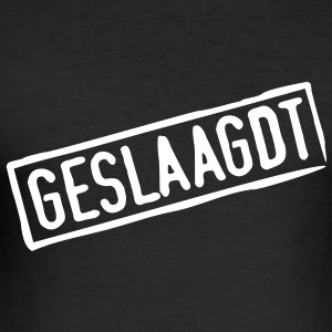 GESLAAGDT T-shirts - slim fit T-shirt