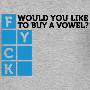 Want To Buy A Vowel 2 (dd)++ T-Shirts - Männer Slim Fit T-Shirt