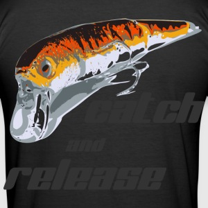 catch and release - Männer Slim Fit T-Shirt